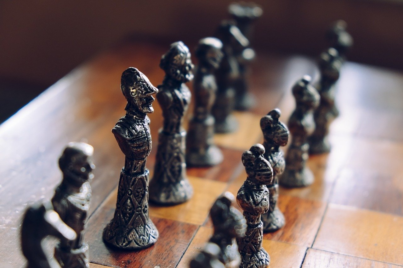 Plot Perfect: Chess is a great way to exercise your problem solving skills. And, apparently, so is planning a book.