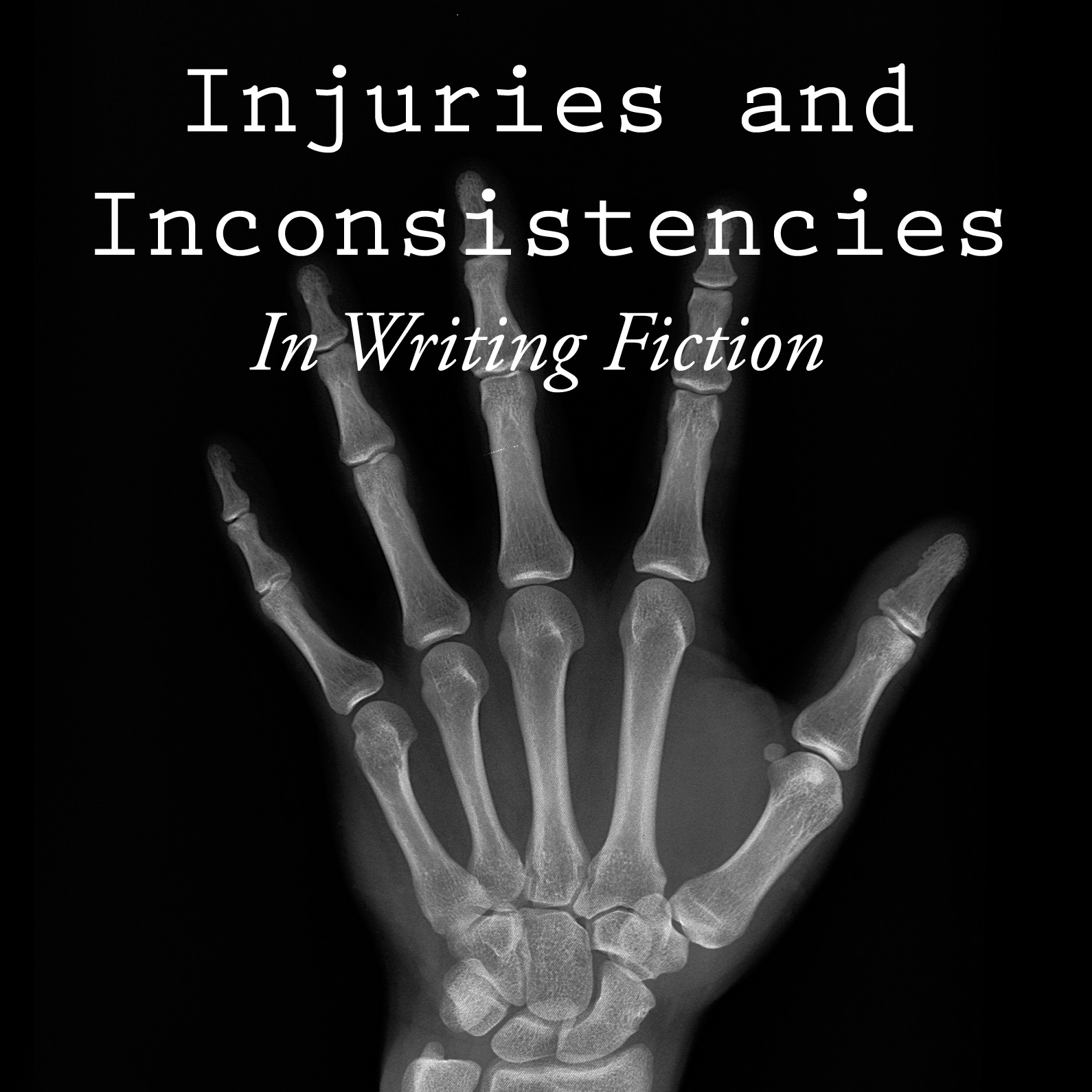 Injuries and Inconsistencies in writing fiction are easily made.