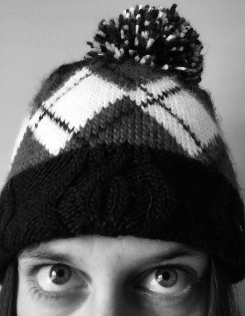 We wear all sorts of hats as writers. Such as this beanie. Or, as we call them in Canada, 'toques'.
