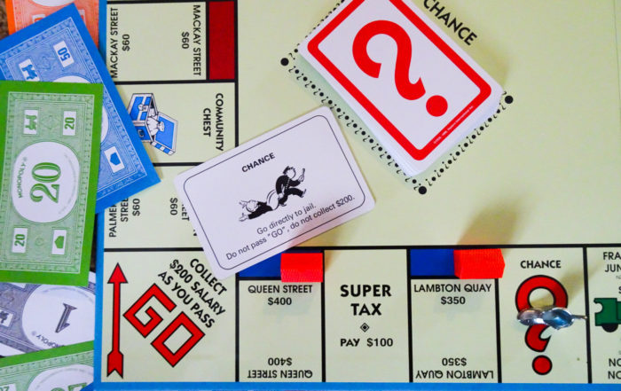 Sometimes despite doing your best, it feels like the whole world is trying to drag you back, like in monopoly. Go straight to jail, do not pass GO, do not collect $200.