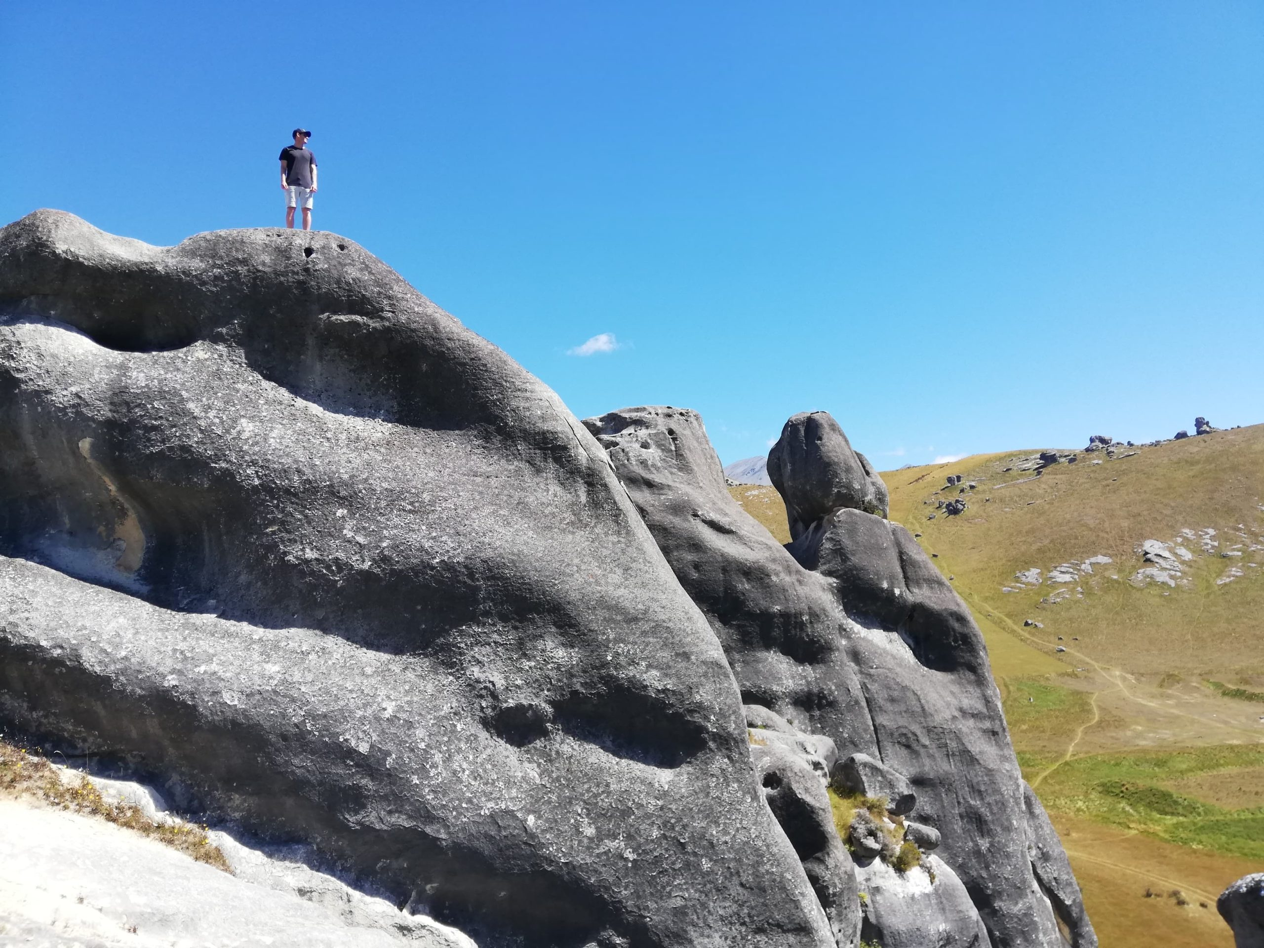 Castle Hill is an awesome bouldering site, and creates enough awe to distract from burnout.