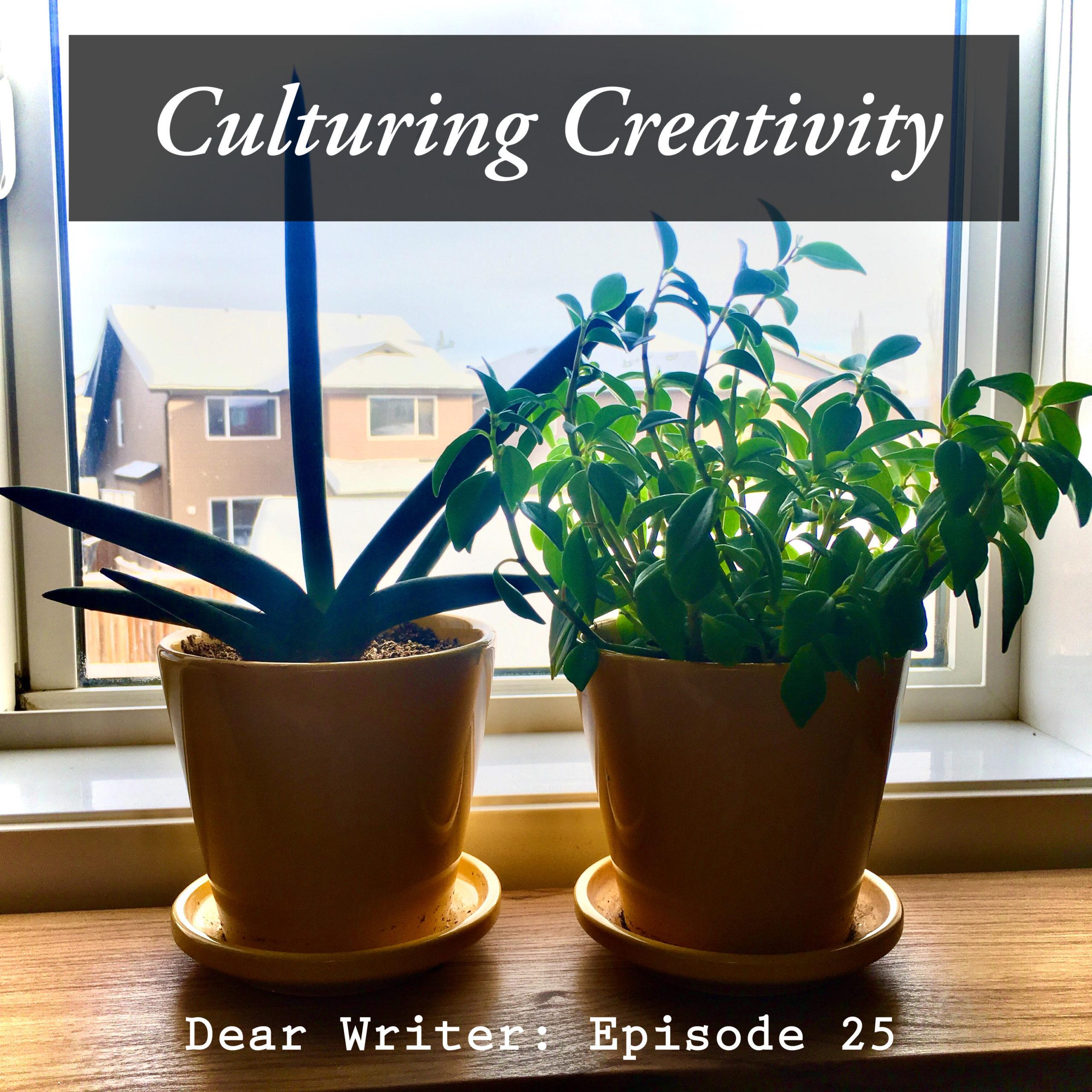 Episode 25: Culturing Creativity - Procrastinating or Propagating?